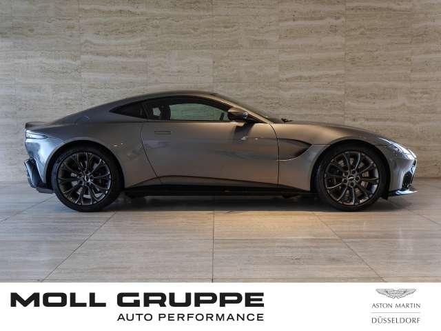 Aston Martin Vantage Hammerhead Silver, Pure Black Leder
