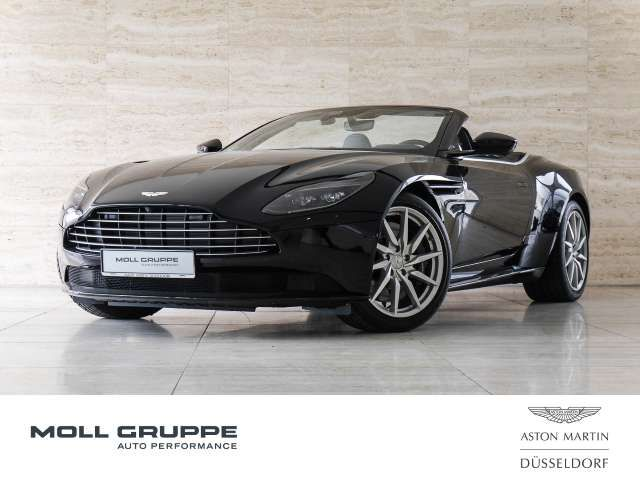 Aston Martin DB11 V8 Volante, Ultramarine Black , Obsidian Black Led
