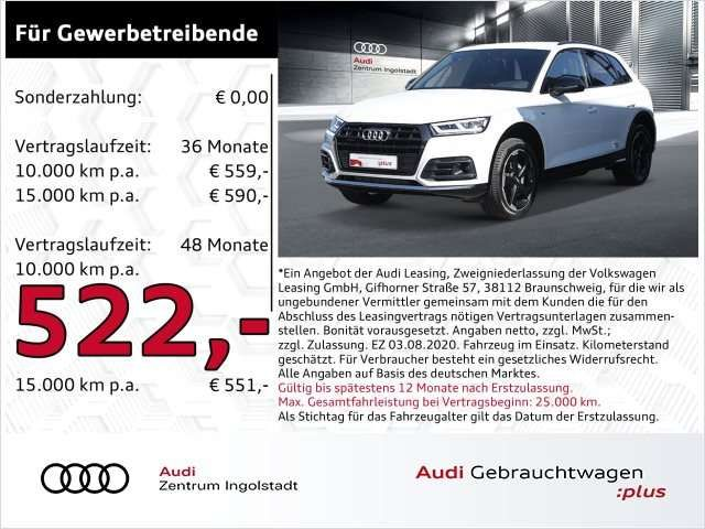 Audi Q5 45 TFSI qu 3xS line comp. LED NAVI+ AHK Sport