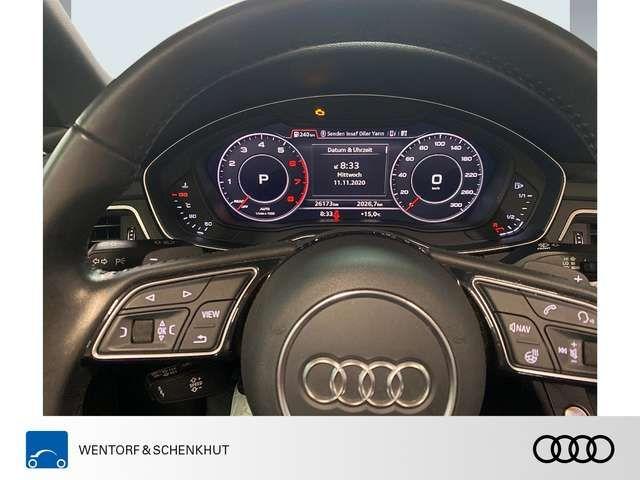 Audi A5 Cabriolet 2.0 TFSI design S-Line Matrix VC MMI Nav