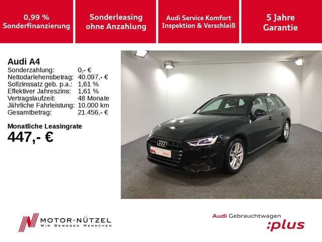Audi A4 Avant 35 TDI S-TR ADVANCED 5J.G+LED+NAVI+ACC