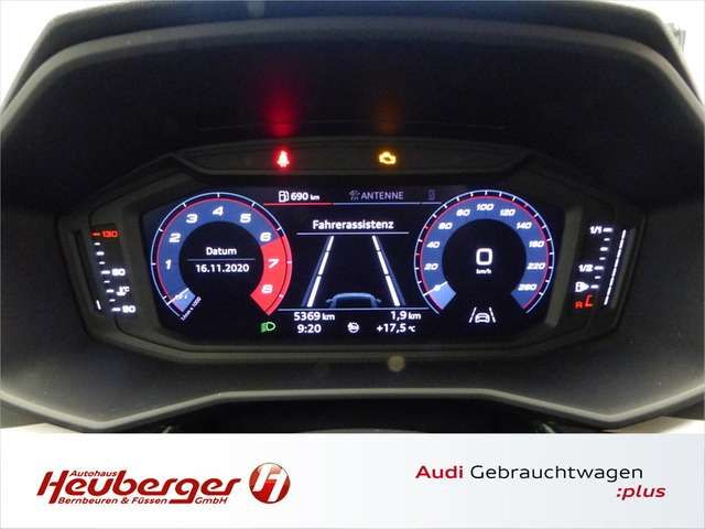 Audi A1 Sportback 25 TFSI advanced, virtual, Sitzheizung,