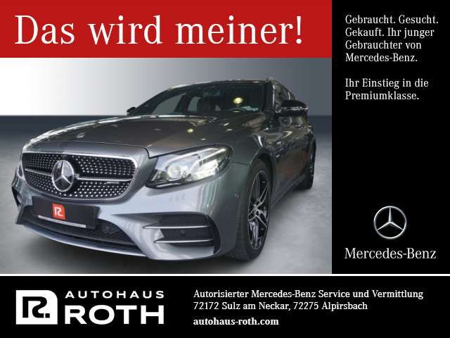 Mercedes-Benz E 43 AMG 2017 Benzine
