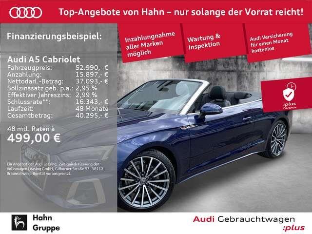 Audi A5 S line 40 TFSI S-tr Navi LED ACC CA