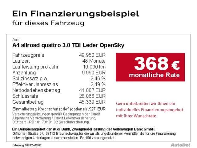 Audi A4 allroad quattro 3.0 TDI Leder OpenSky Bluetooth
