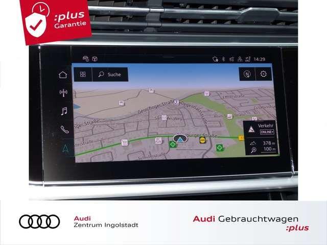 """Audi Q8 55 TFSI e S line MATRIX ACC AHK LUFT 22"""" KAM."""