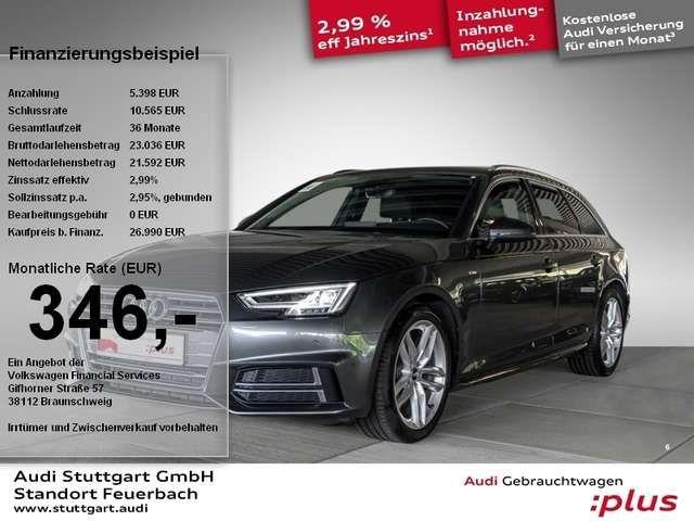 Audi A4 Avant sport 2.0 TDI S line Virtual Cockpit