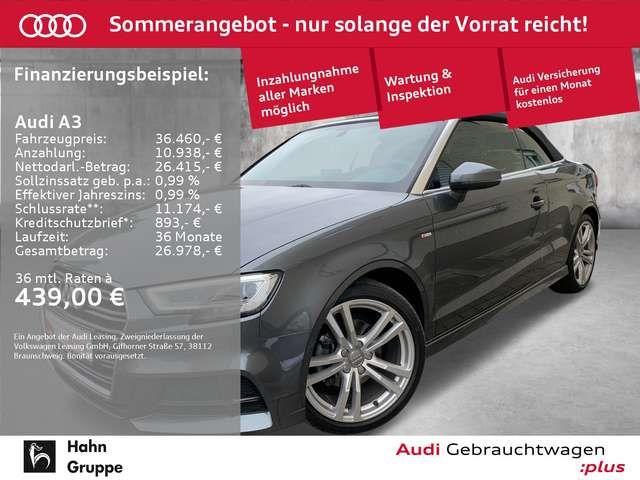 Audi A3 Cabriolet 35TFSI S-trc S-line B&O GRA Navi LE
