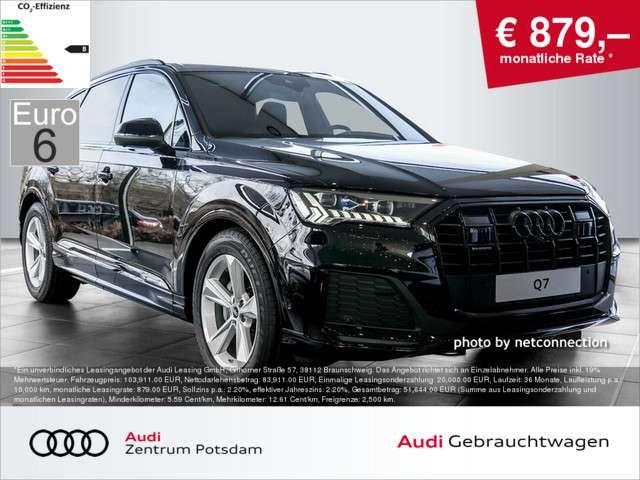 Audi Q7 S line 50 TDI quattro HUD LASER EU6 B&O