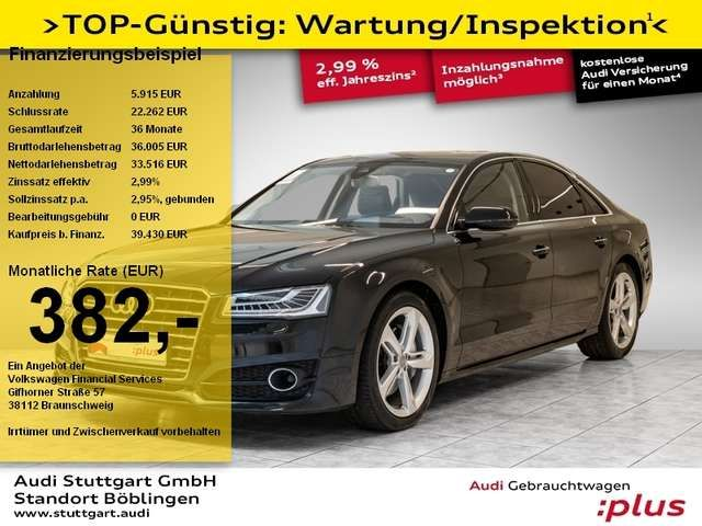 Audi A8 3.0 TDI quattro Nachtsicht ACC SHD-Solar BOSE