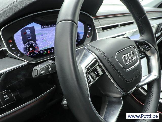 Audi A8 50 q. TDi BuO HUD Pano Standhzg Bluetooth Navi