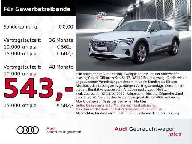 Audi e-tron Sportback advanced 50 qu MATRIX ACC B&O