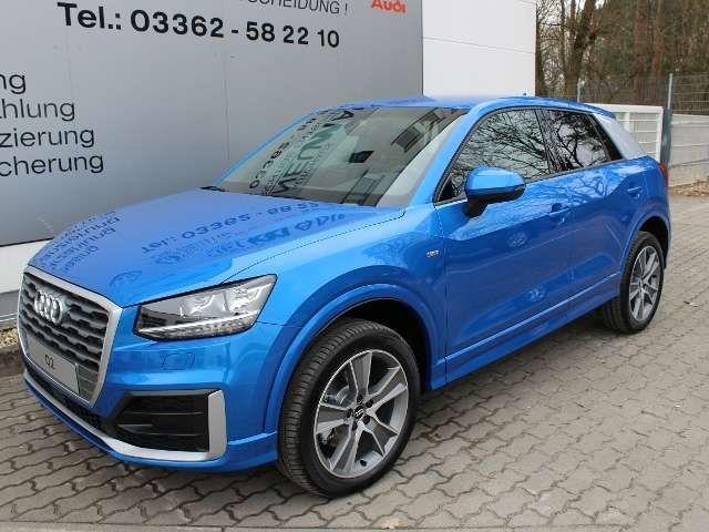 Audi Q2 1,6 TDI S-Line NAVI/SITZHZ/18ZOLL/MFL/PDC