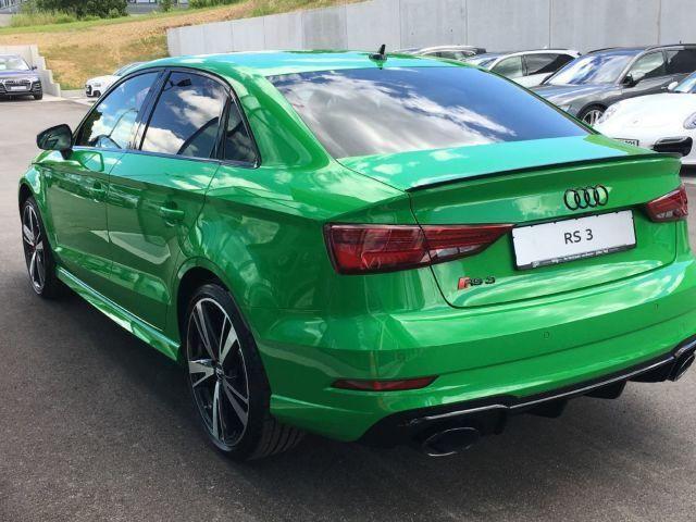 Audi RS 3 Limousine RS3 Limousine Viper Grün