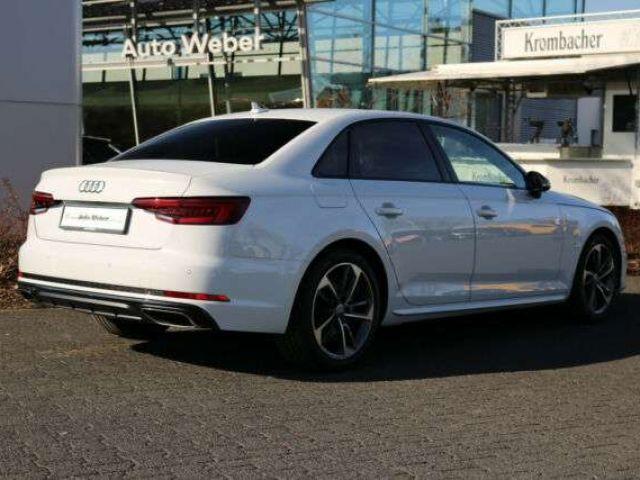 "Audi A4 40TFSI S tronic 3x S LINE BLACK ACC VC 18"""