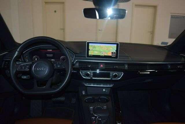 Audi A4 allroad 3.0 TDI quattro, Leder zederbraun